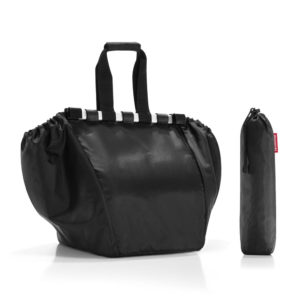 Black Easy Shopping Bag with pouch