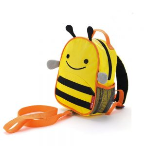 Bee Skip Hop Zoolet Backpack with Reins
