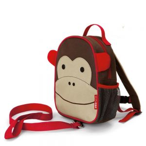 Monkey Skip Hop Zoolet Backpack with Reins