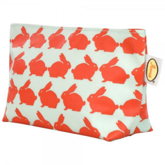 Kissing Rabbits Cosmetic Bag