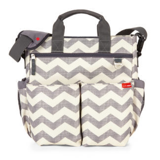 Grey Chevron Skip Hop Duo Signature