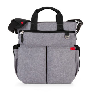 Heather Grey Skip Hop Duo Signature