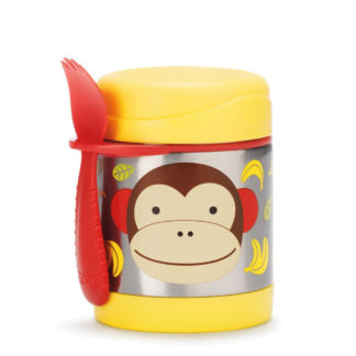 Monkey Skip Hop Insulated Food Jar