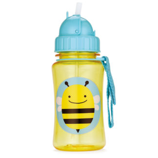 Bee Skip Hop Zoo Straw Bottle