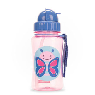 Skip Hop Butterfly Straw Bottle
