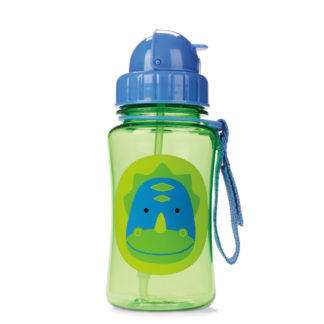 Dinosaur Skip Hop Straw Bottle