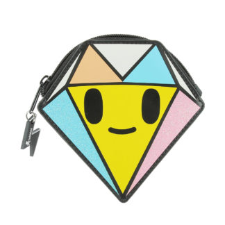 Front of the Tokidoki Diamond Purse