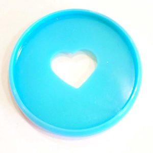 Teal Happy Planner Expander Disc Single