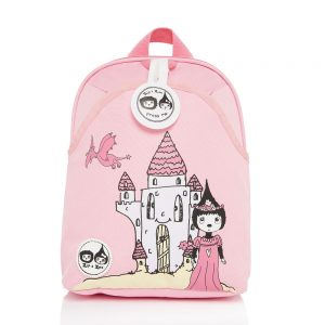Zip and Zoe Daisy Castle Mini Backpack