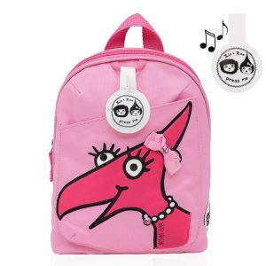 Front of the Zip and Zoe Daisy Dino Mini Backpack