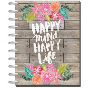 Big Happy Planner Happy Mind Happy Life front cover