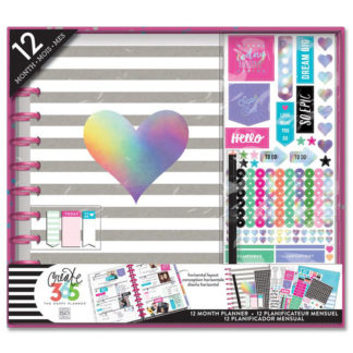 Big Happy Planner Rainbow Foil Box Kit