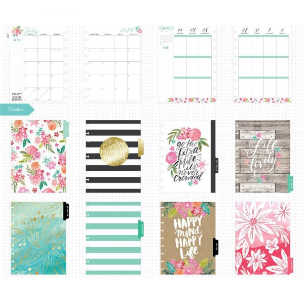 Happy Mind Happy Life Classic Happy Planner Layout