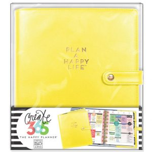Sunshine Yellow Classic Happy Planner Deluxe Cover