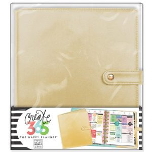 Gold Classic Happy Planner Deluxe Cover