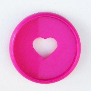Mini Happy Planner Hot Pink Disc