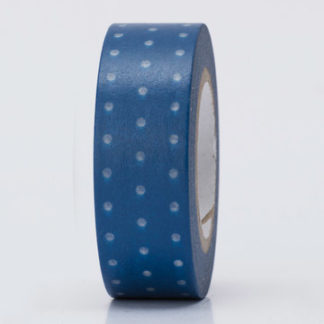 Paper Poetry Blue and White Dotted Nautical Washi Tape
