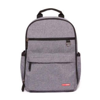 Heather Grey Skip Hop Duo Backpack