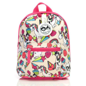 Zip and Zoe Unicorn Mini Backpack with Reins