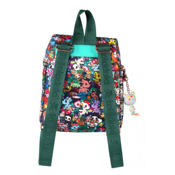 Backpack straps on the Tokidoki Rainforest Mini Backpack