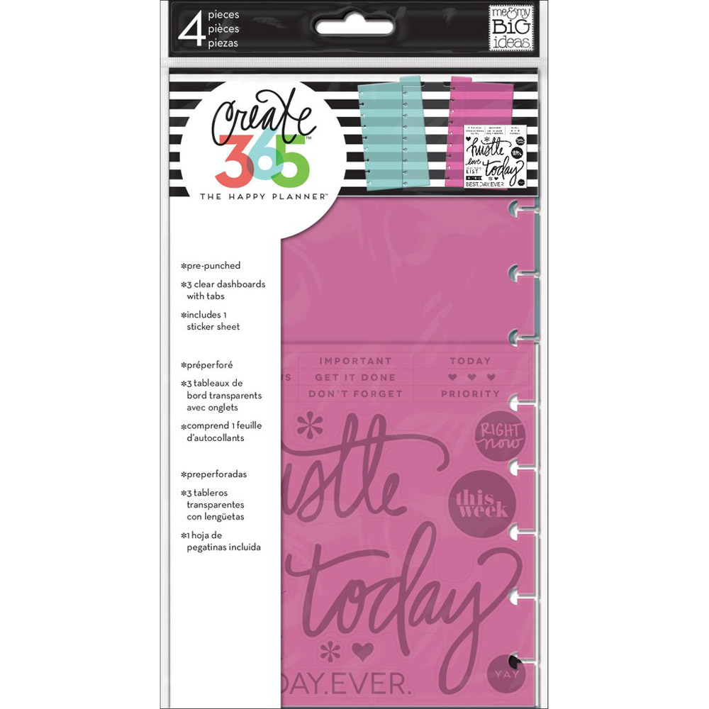Classic Happy Planner Dashboards in packaging